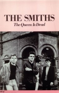 The Smiths Band - The Queen is dead US promotional Poster