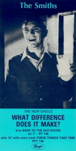 Single Promo poster - The Smiths, 1984, January