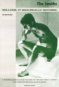 Single Promo poster - The Smiths