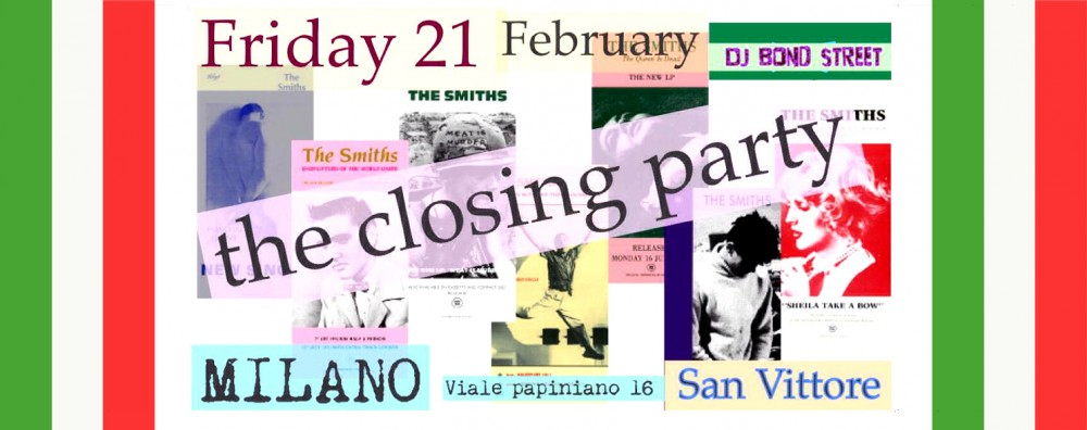 The Smiths in Posters Party